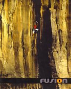 Rock Climbing Photo:  climbing Black And Tan 5.10, The Waterfall, AZ  O...