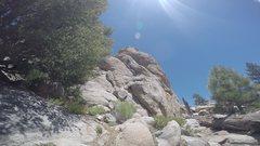 Rock Climbing Photo: Best 5.6 I've ever lead.