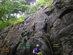 Rock Climbing Photo: 'Je' Mapel Jon Phillip French Intern Exchange Stud...