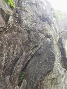 Rock Climbing Photo: Not the best picture but look for this start. It i...