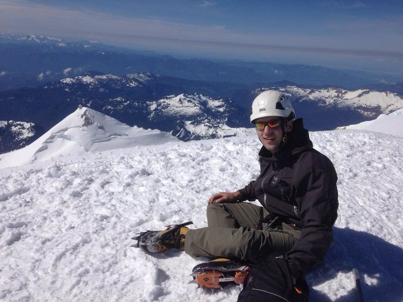 Rock Climbing Photo: Summit of Mt. Baker