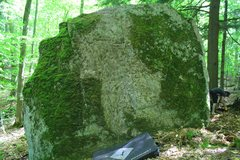 Rock Climbing Photo: Fresh after scrubbing. It has since been cleaned u...