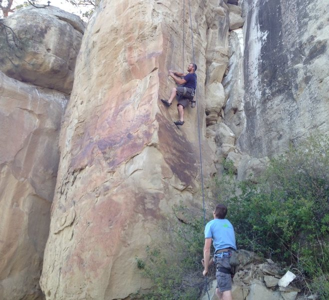 Rock Climbing Photo: The Shower