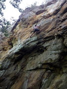 Rock Climbing Photo: stylin' out the finish!...