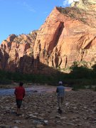 Rock Climbing Photo: Nice view from the river.