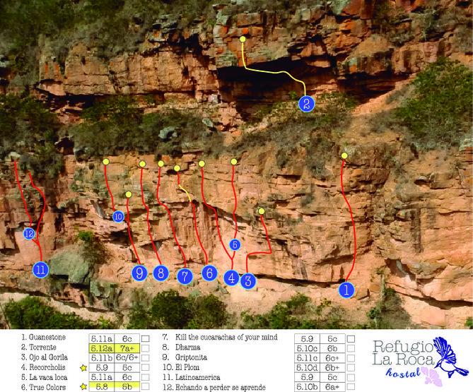 Climbing zone # 1