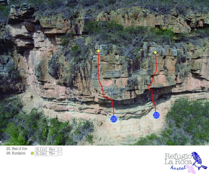 Rock Climbing Photo: Climbing zone # 3