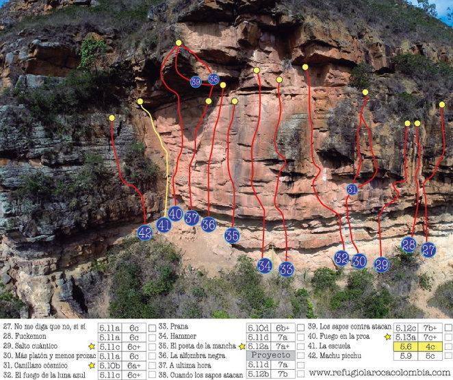 Climbing zone # 4