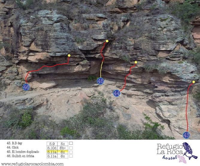 Climbing zone # 5