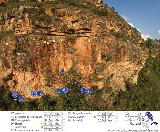 Climbing zone # 6