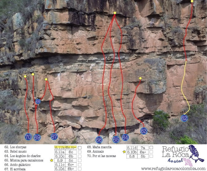 Climbing area # 8