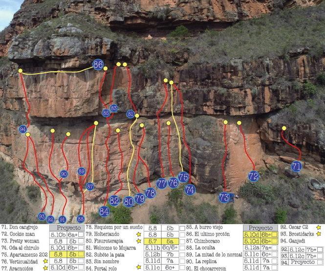 Rock Climbing Photo: climbing zone # 9
