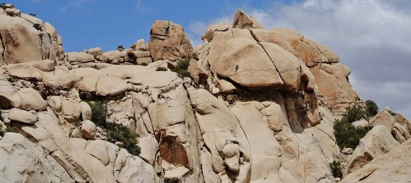 Rock Climbing Photo: Climbers on Bish.  Photo used with permission from...