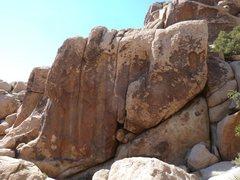 Rock Climbing Photo: Resolution Rock, Joshua Tree NP