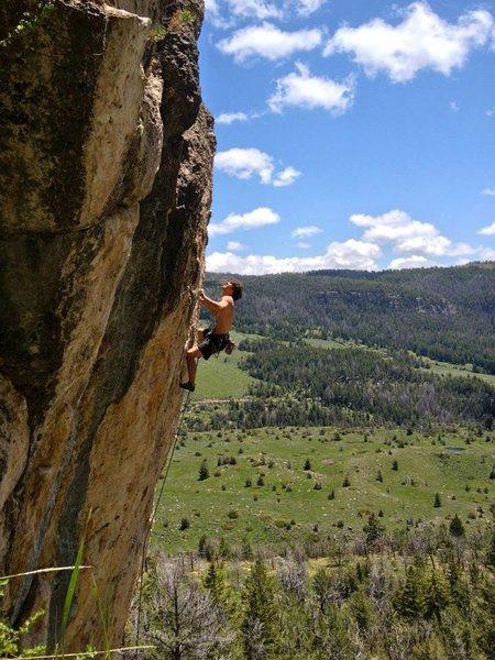 Rock Climbing Photo: Solid Gold Secret Sauce, 12a