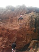 Rock Climbing Photo: Nice route to do when the sun comes out
