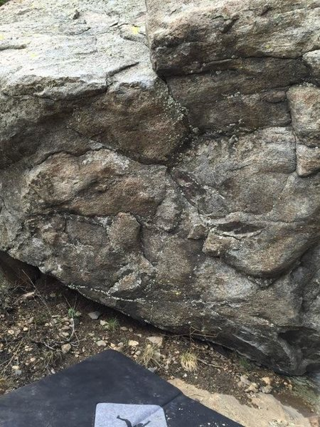 Rock Climbing Photo: Shannon's Bloody Leg.