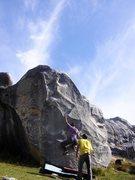 Rock Climbing Photo: A beautiful day for sending Beautiful Edges.