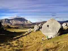 Rock Climbing Photo: Classic Castle Hill