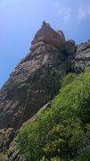 Rock Climbing Photo: Jim Thornburg on Continental Drift Whiplash