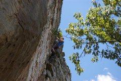 Rock Climbing Photo: Super Grover - Final bolt