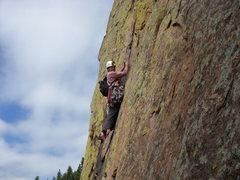 Rock Climbing Photo: Rewritten, El Dorado Canyon