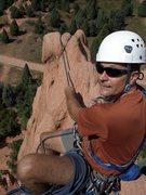 Rock Climbing Photo: Belaying atop Montezuma