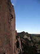 Rock Climbing Photo: Back Wall