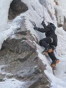 Rock Climbing Photo: Fun on the Thin Ice