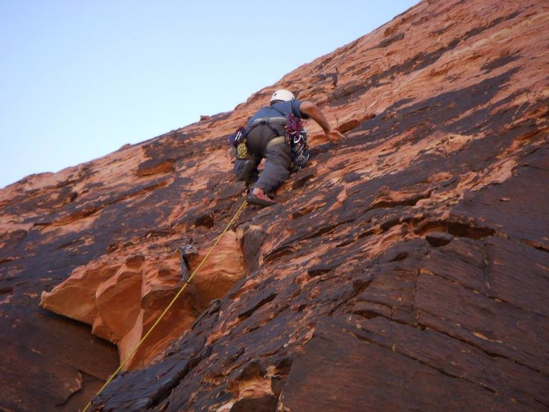 Rock Climbing Photo: Physical Graffiti