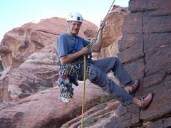 Rock Climbing Photo: Rapping Physical Graffiti