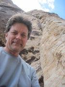 Rock Climbing Photo: Dark Shadows, At 5th Pitch's Rusty Bolts