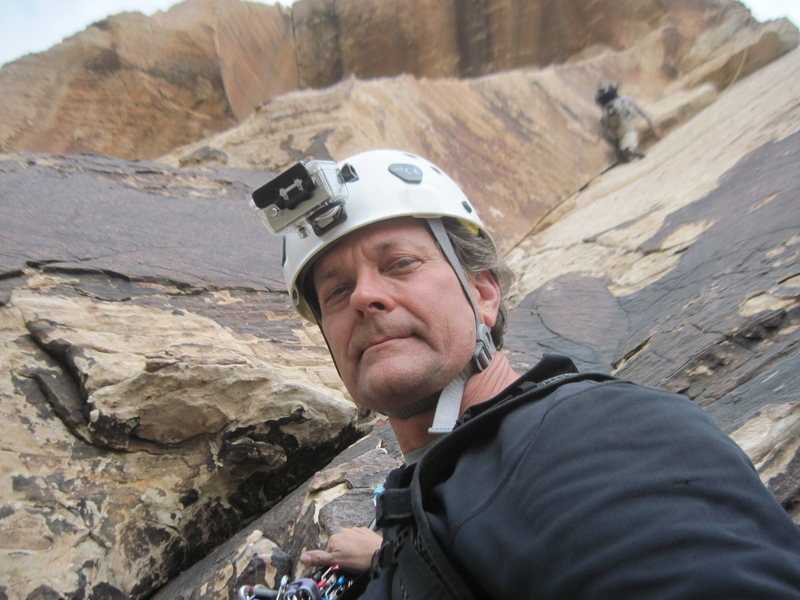 Rock Climbing Photo: Johnny Vegas, Red Rocks, starting Pitch 3