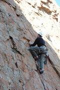 Rock Climbing Photo: High Anxiety, Lower Mt. Scott