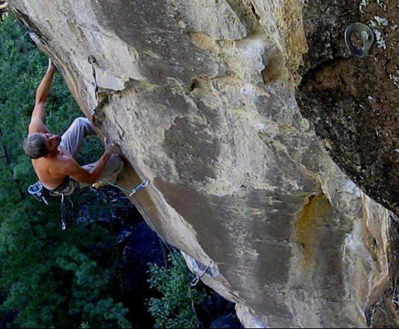 Rock Climbing Photo: JJ Chasing Dragons.