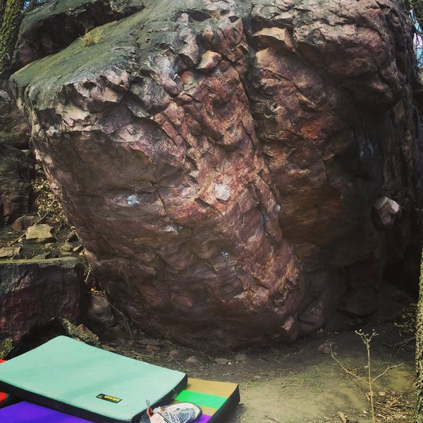 Rock Climbing Photo: Photo of boulder
