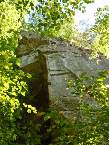 Rock Climbing Photo: Cornerstone from ground