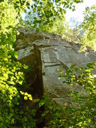 Rock Climbing Photo: Cornerstone from ground