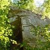 Cornerstone from ground