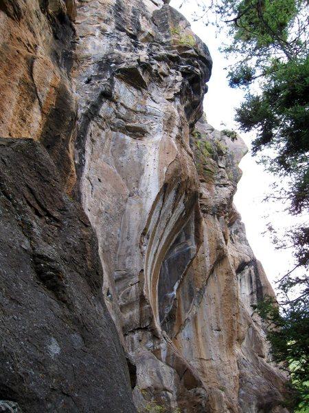 Rock Climbing Photo: Up In Smoke.
