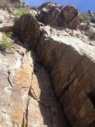 Rock Climbing Photo: The start of P0.