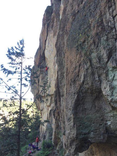 Rock Climbing Photo: Cool climb