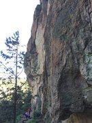 Rock Climbing Photo: Cool climb
