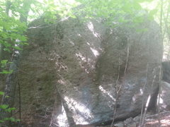 Rock Climbing Photo: Sorry for the terrible quality.  This ~15' rock is...