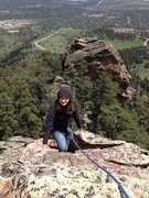Rock Climbing Photo: Hobo.