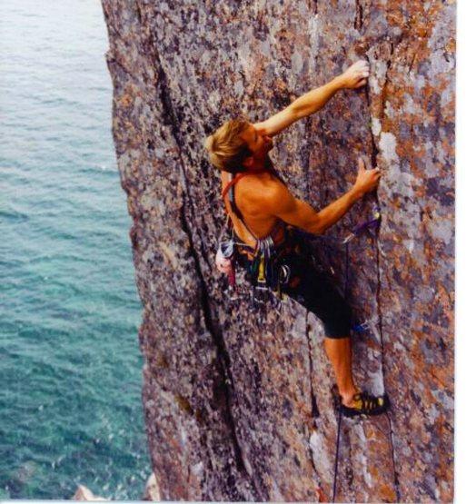 Rock Climbing Photo: Dave Groth 1996.