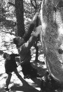 Rock Climbing Photo: Dan Schwarz ripping off the crux holds. He sent th...