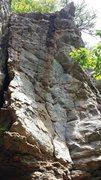 Rock Climbing Photo: Dodo Bird on the left (face) - 5.10c Fruit Loops o...