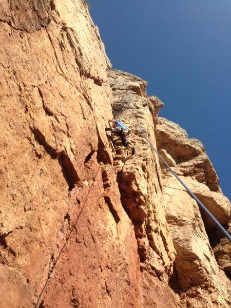 Rock Climbing Photo: Killer Queen stemming.