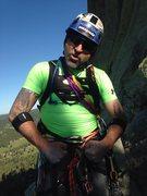 Rock Climbing Photo: Leigh IS-Super Man